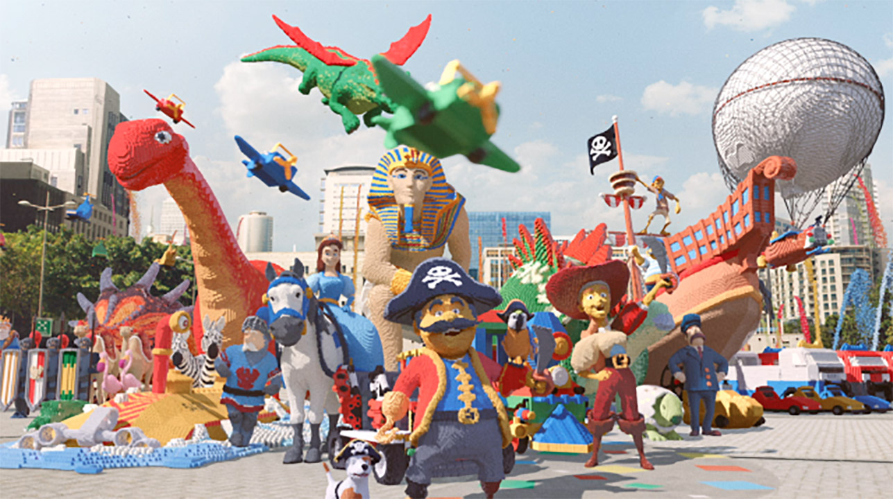 Behind The Scenes of LEGOLAND 'Awesome Awaits'