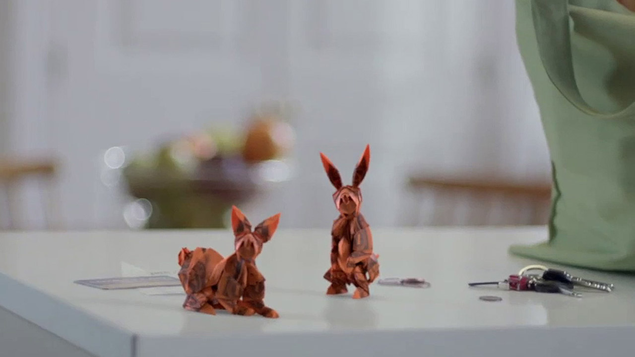 Voya's Origami Squirrel & Rabbit