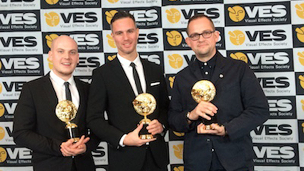 "SSE ""Maya"" wins 3 VES Awards"