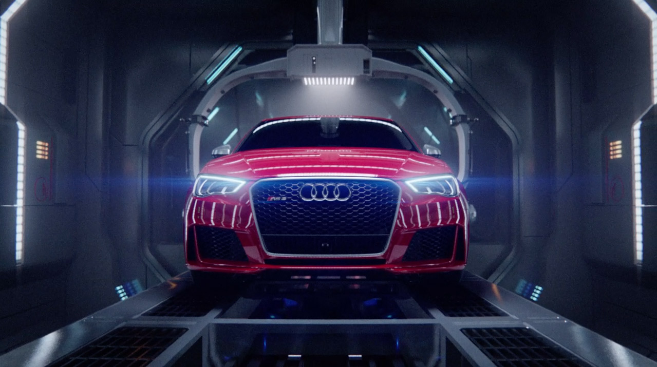 Audi 'Birth' - VisualFX Hub