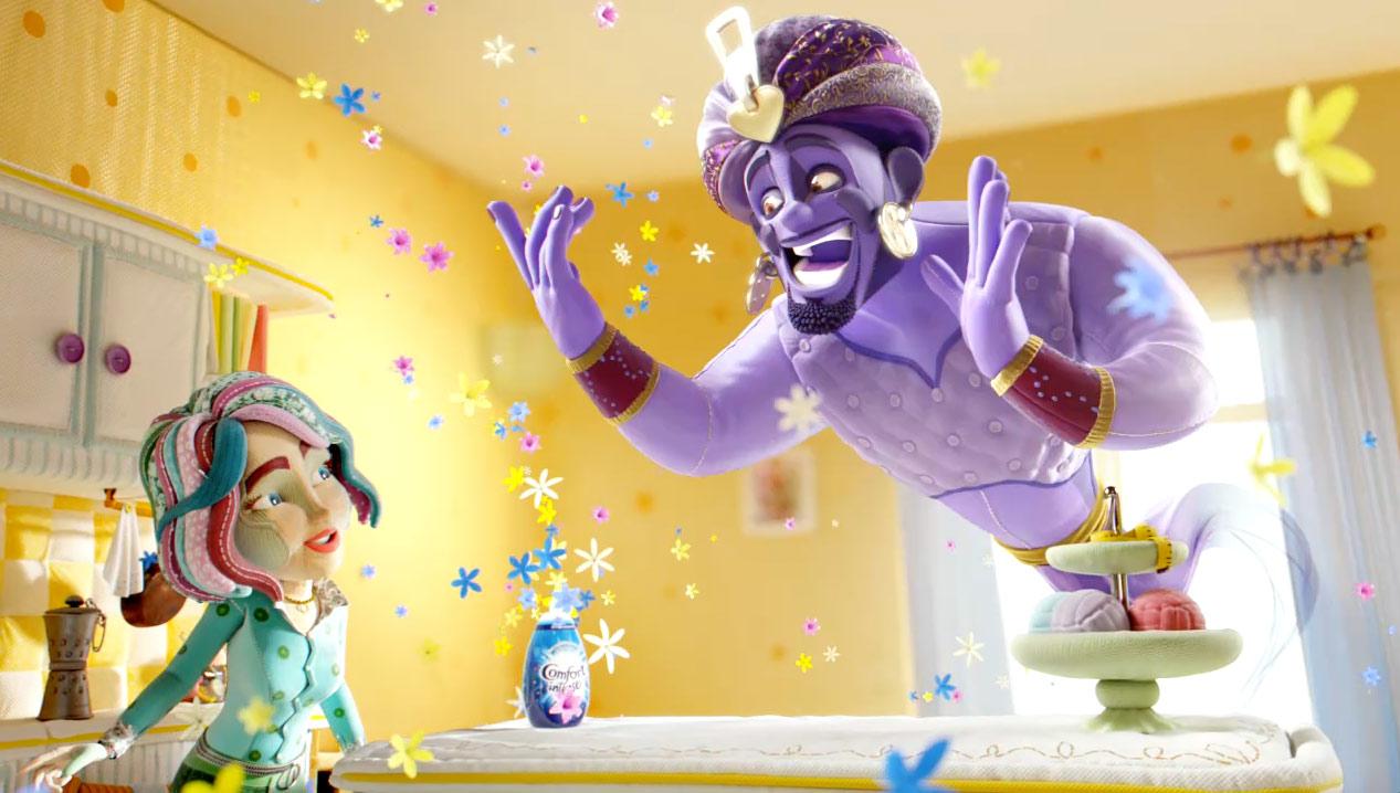 Mill+ Director Jimmy Kiddell Talks Comfort 'Genie' & Character Animation