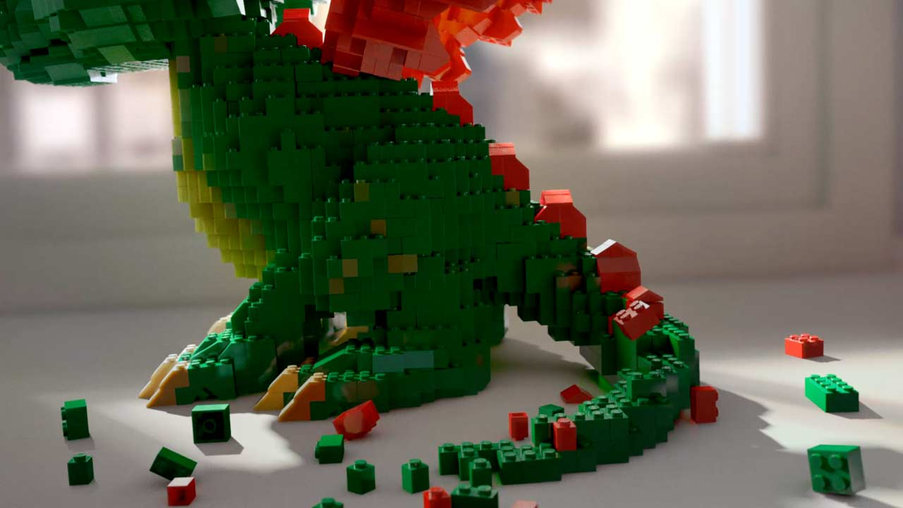 How  The Mill Brought LEGO To Life for BMB