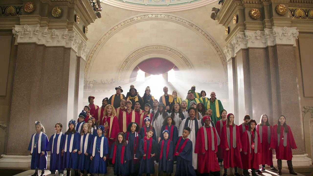 Super Bowl 50: NFL 'Super Bowl Babies Choir'