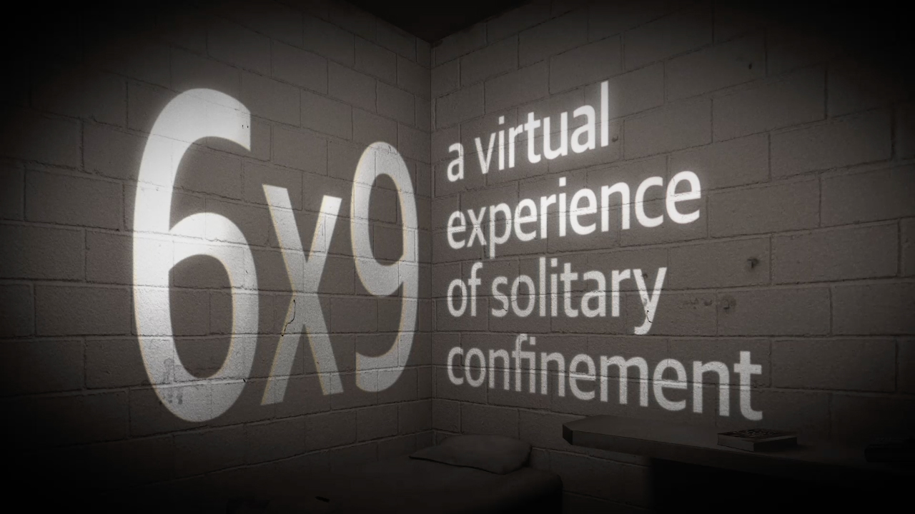 Virtual reality project '6x9' gives viewers a taste of solitary confinement