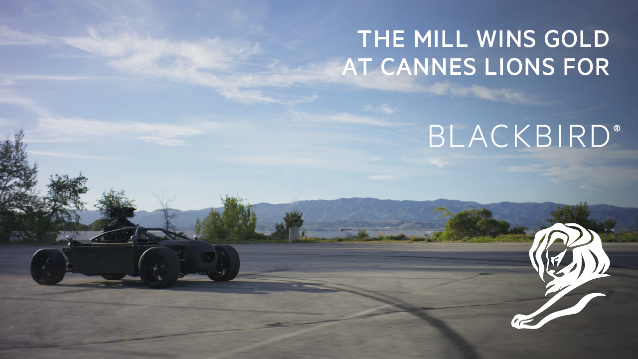 The Mill BLACKBIRD® wins Innovation Lions Award at Cannes