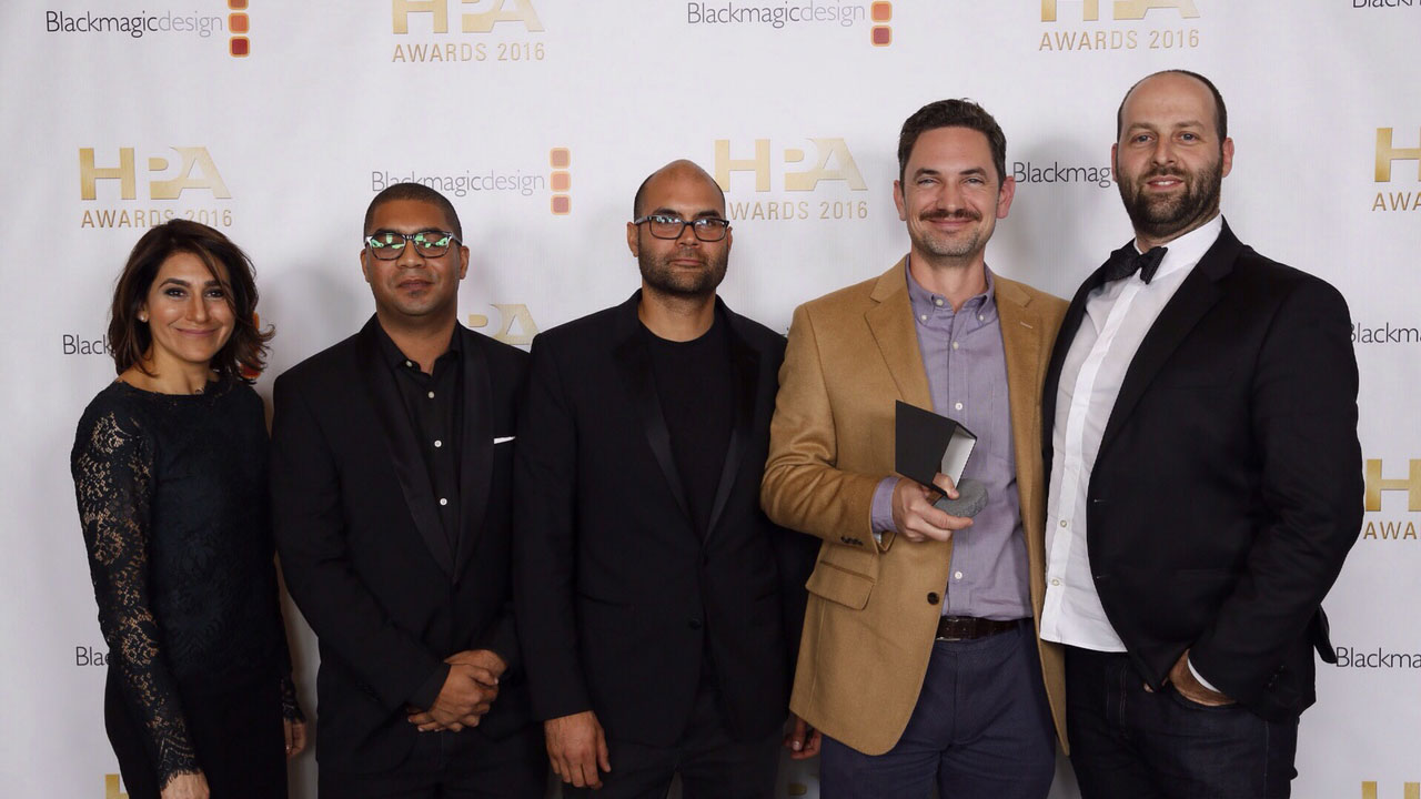 The Mill BLACKBIRD® Wins HPA Judges Award for Creativity and Innovation | 2016