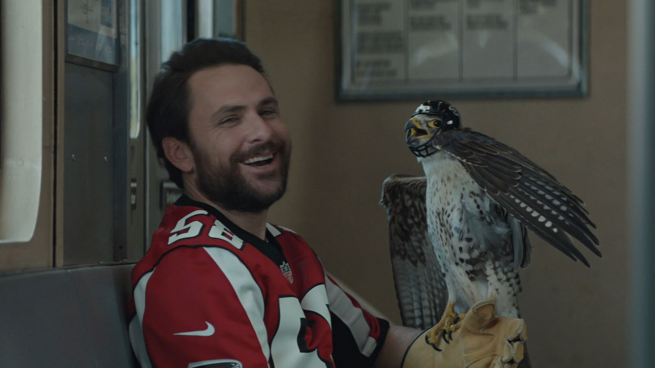 Charlie Day Hangs Out With a Crazy Pirate and Rides a Bear in DirecTV's Silly New Campaign