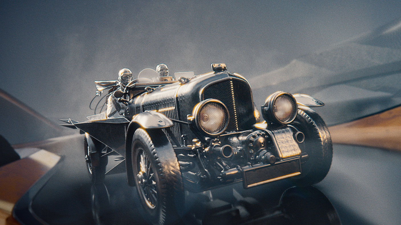 Mill+ and Keko London Present a Grand Tour of Bentley's History