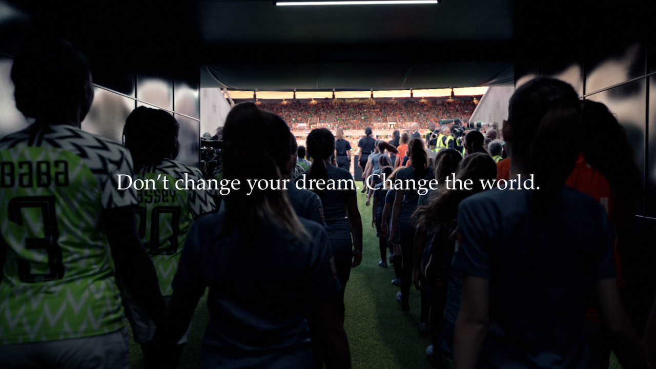 Nike's powerful Women's World Cup ad says 'Don't change your dream – change the world'